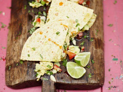 Beautiful Breakfast Tortilla with Avocado - Jamie's Home Cooking Skills