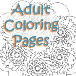 This is one of my stress relievers. For future reference, everyone likes to color.
