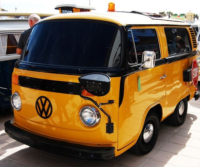 Where Can I Buy A Volkswagen Bus: VW SCHOOL BUS.........PHOTO BY YAKIN669 ON FLICKR