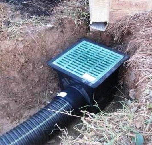 Gutter Water Drainage Landscape Drainage Services