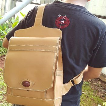 Kulit Asli Sling Bag Backpack 002