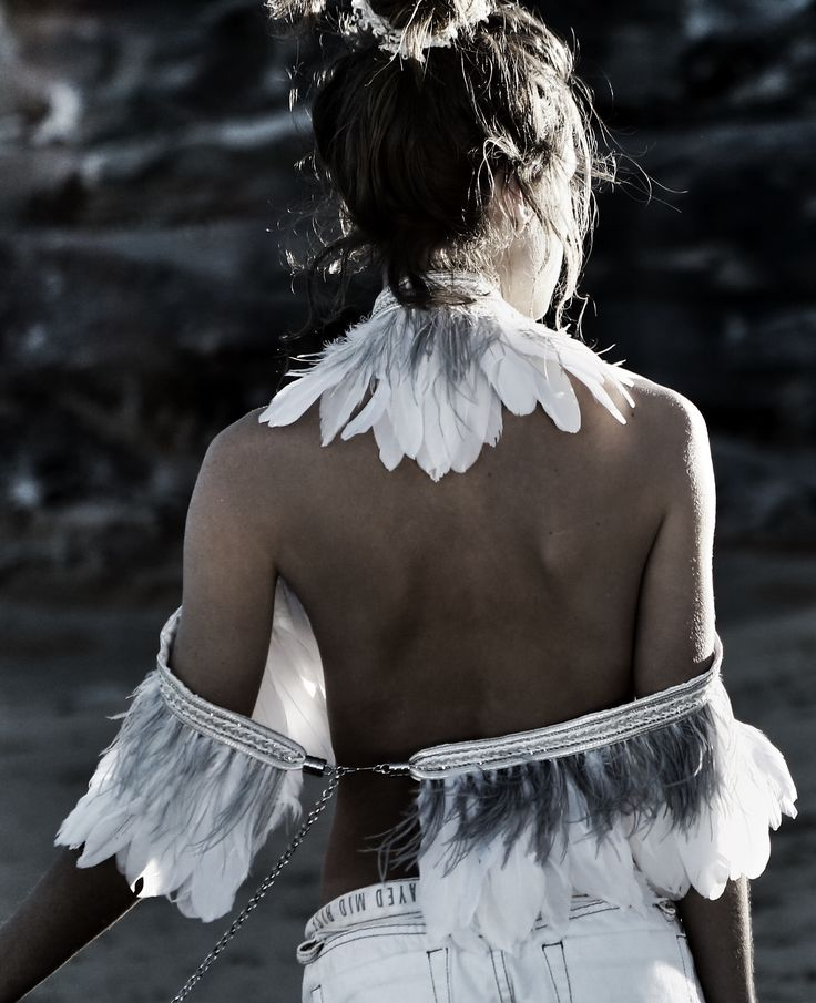 Feathered Overpiece by IXIAH
