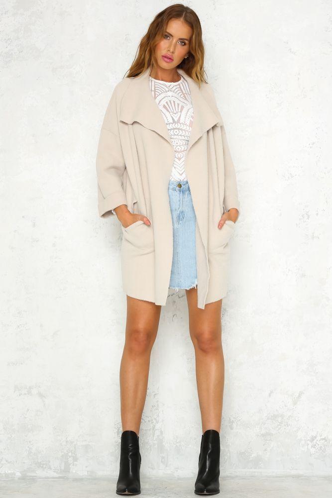Close Proximity Coat Mocha