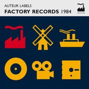 Poster designed for Factory 156 designed by Peter Saville and Phill Pennington.