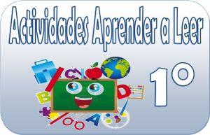 Actividades para aprender a leer primer grado de primaria