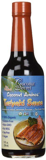 Coconut Secret Coconut Aminos Teriyaki Sauce