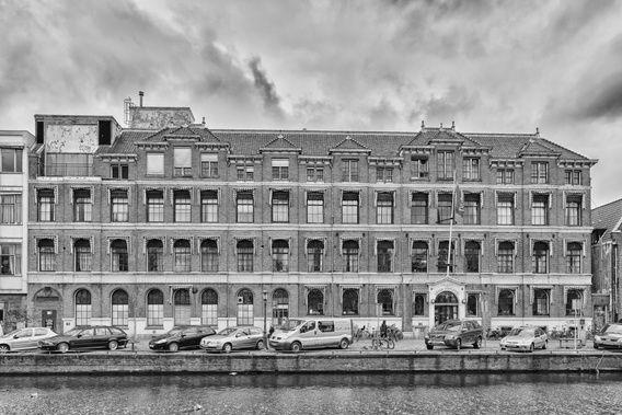 Koop 'Prinsengracht Ziekenhuis Amsterdam' van Don Fonzarelli voor aan de muur.