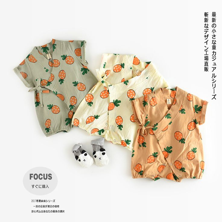Cute Baby Korea Baby Rompers Suits Infant Kids Monk Short Sleeve Kimono Baby Boy Girl Clothes Baby Sleepwear-in Rompers from Mother & Kids on Aliexpress.com   Alibaba Group