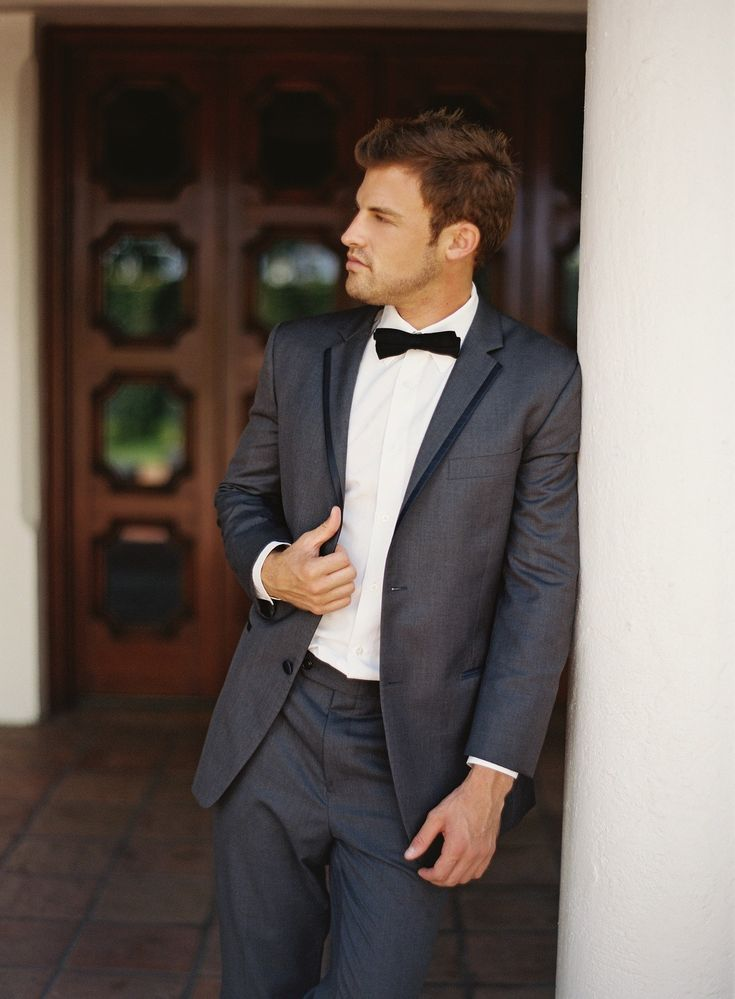 Groom's Attire | See more on SMP: http://www.StyleMePretty.com/2014/02/04/mediterranean-wedding-inspiration/ Photography: Ozzy Garcia