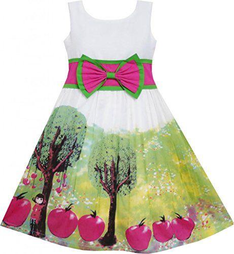 EY31 Sunny Fashion Little Girls' Dress Apple Tree Print Bow Tie Summer Sundress 6 Sunny Fashion http://www.amazon.com/dp/B00N3XN15W/ref=cm_sw_r_pi_dp_TsQLvb06BK16M