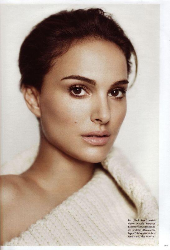 Natalie Portman. Vogue Rusia.