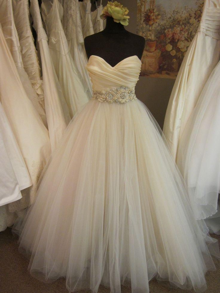 Lazaro tool ball gown dream home pinterest for I love wedding dresses