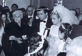 Τhe wedding of Aliki Vougiouklaki... the most wellknown and beloved Greek address which has passed away. Every little kid today loves wathing her movies! So loved by the people!