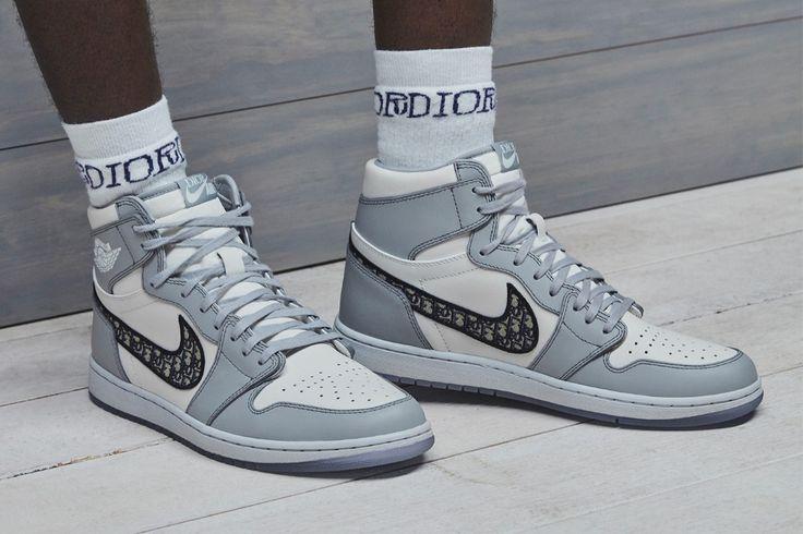 Dior & Jordan Brand Unveil Long-Awaited Air Jordan 1 High OG ...