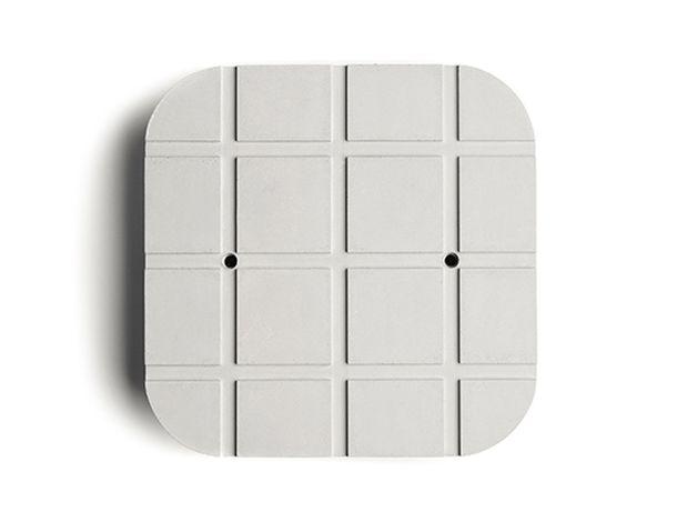 Quadrata-G wall light designed by Valentino Marengo