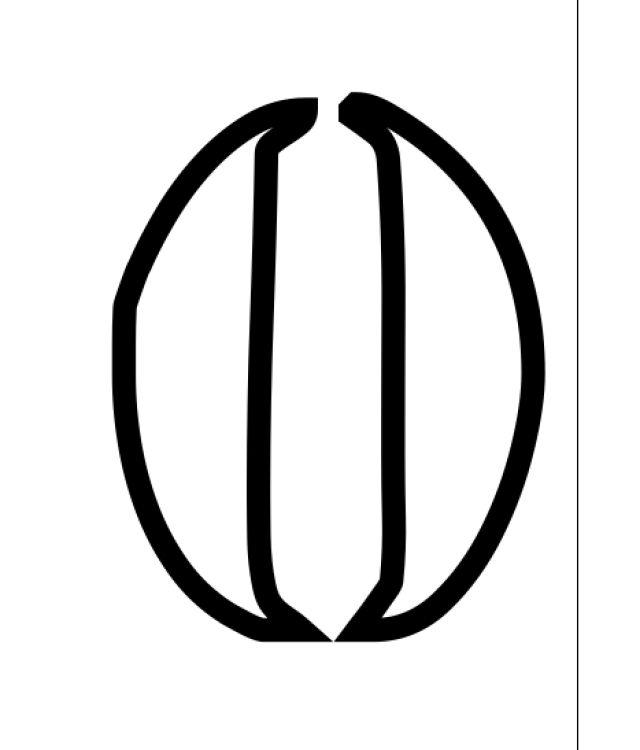 Plantillas de stencil de números y símbolos gratis para imprimir: Plantillas de stencils de números y símbolos gratis para hacer en casa: 0