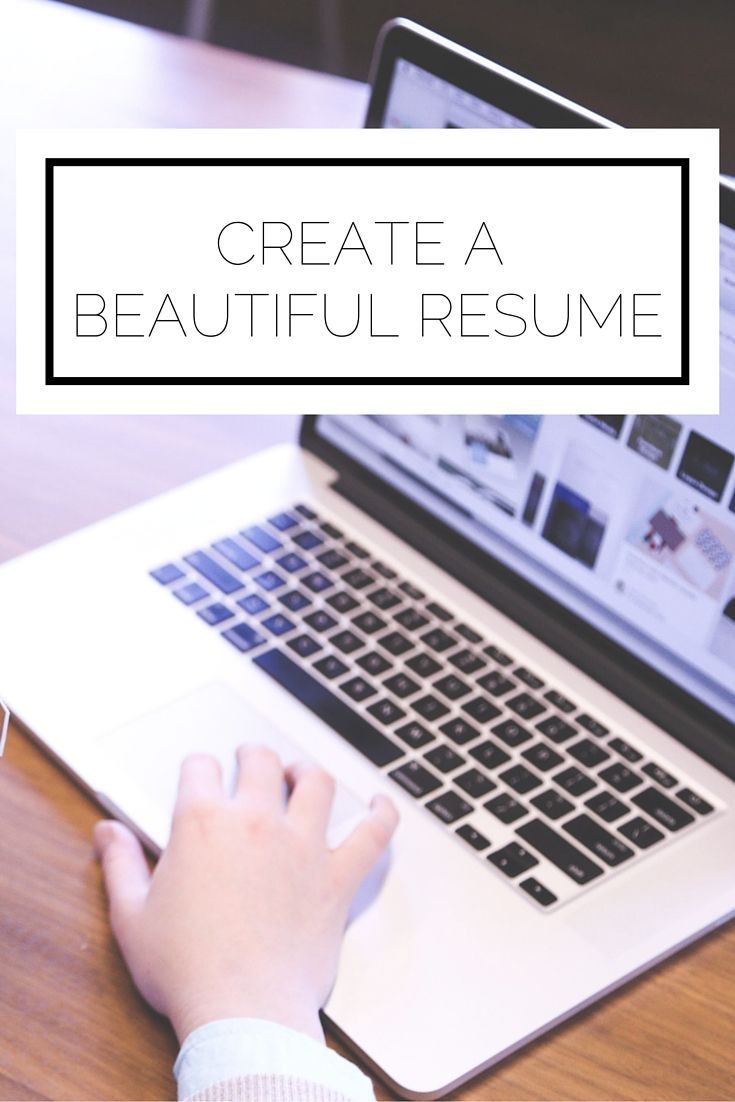 Click to read now, or pin to save for later. Having a detailed resume with clear results isn't enough. Here's how to create a beautiful resume that will catch the eye of employers