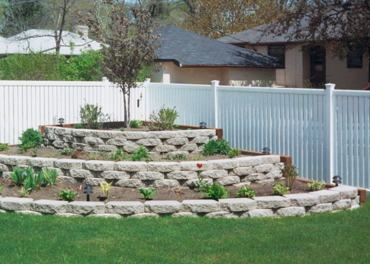 Back Yard Landscape 11 New Full Cheap Privacy Fence