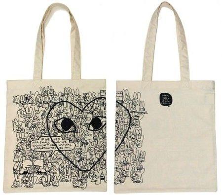 Comme des Garcons x Matt Groening Tote Bag