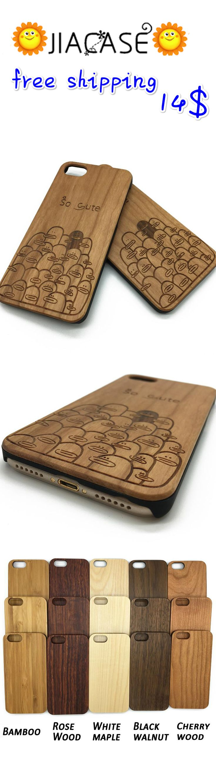 #Ducks Duck Illustration Pattern #IPhone #Samsung Galaxy S 7 #Wooden #Case