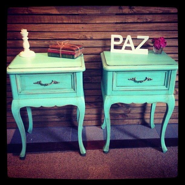 Muebles restaurados nuevos decoracion dise o color for Muebles el desvan