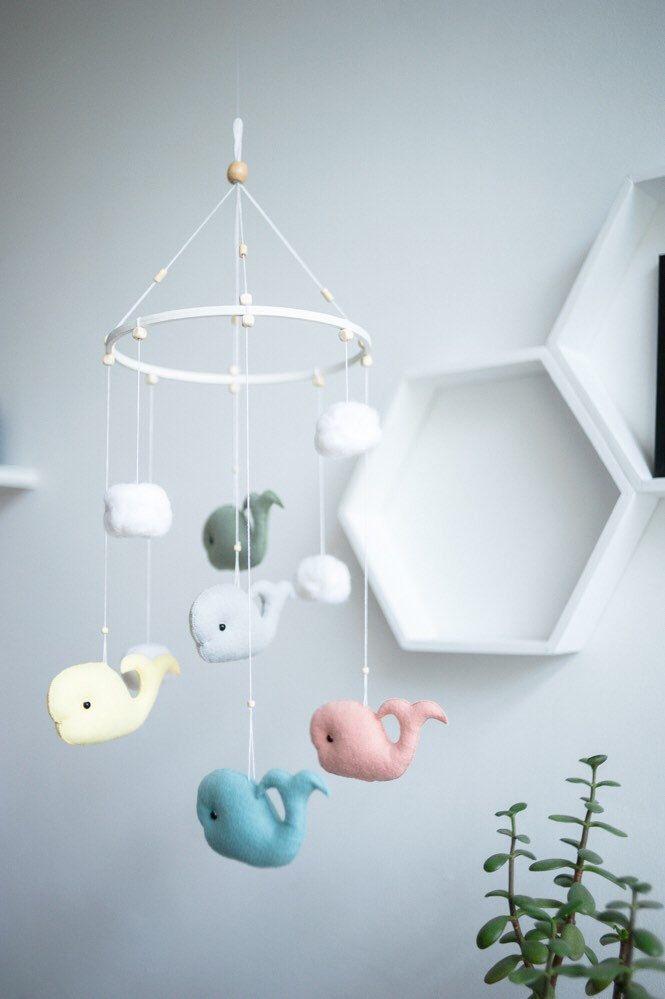 Die Besten Whale Mobile Ideen Auf Pinterest Wal Kinderzimmer