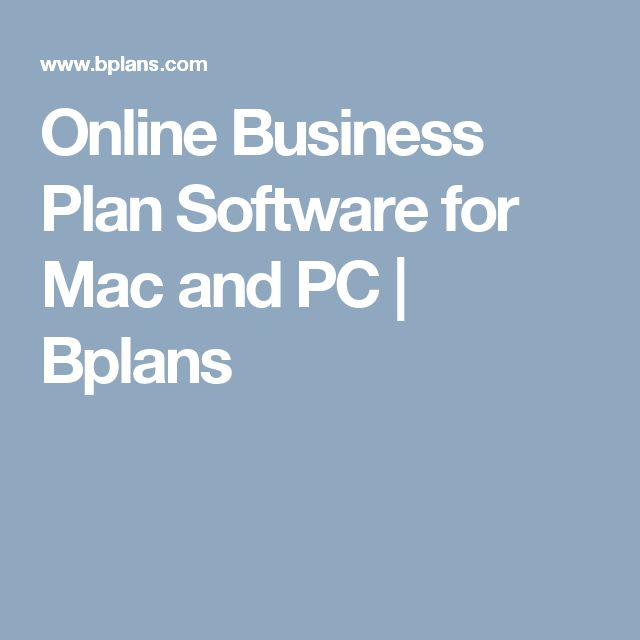 25+ best ideas about Business plan software on Pinterest   Fashion ...