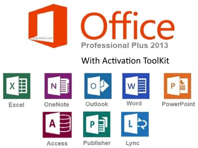 Download Office 2013 Pro Plus Full Version With Activation Pcguide4u Microsoft Office Microsoft Ms Office
