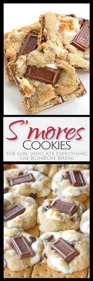 These s'mores cookies are the perfect summer treat when a fire pit isn't nearby!