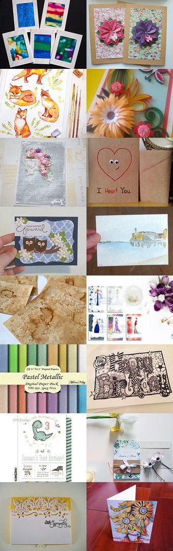 Greetings cards!!! by Carmela Gulino on Etsy--Pinned+with+TreasuryPin.com