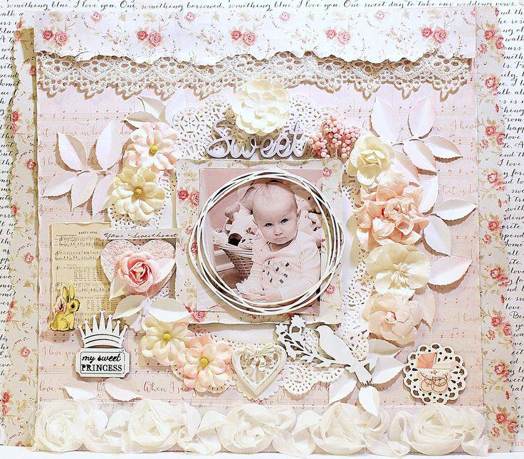 ~Sweet Princess - Kaisercraft - P.S. I Love You Collection