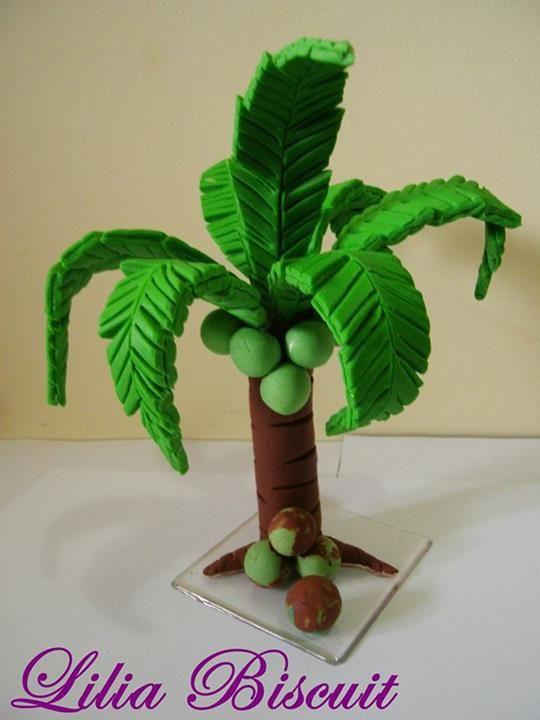 Palm Tree Fondant Figurines Pinterest Trees Palms