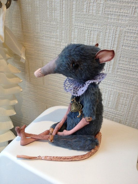 Baby Rat boy or girl Toy  OOAK 85  by Julia Berg by RatBerryToys, $170.00