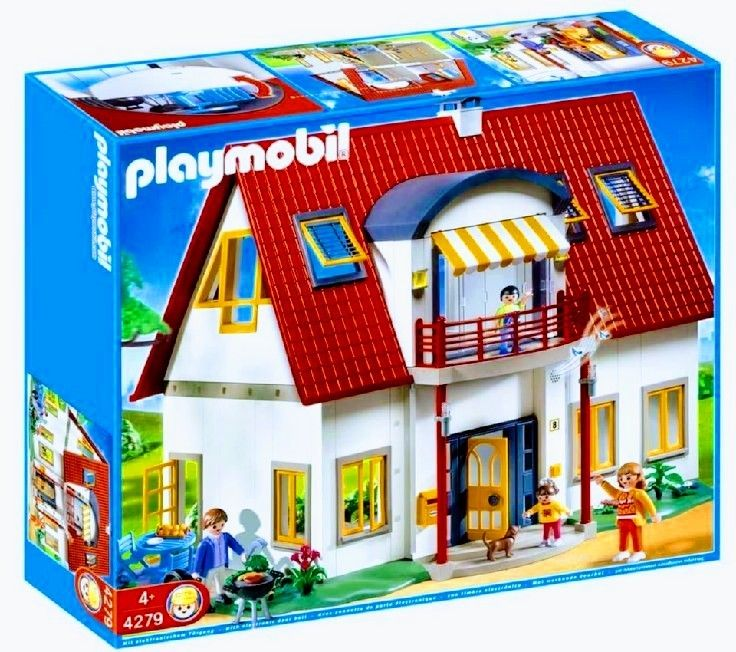 Pin By Manu Serby On Playmobil Meine Leidenschaft Teil 5 Einfamilienhaus Garten Und Garage Playmobil Playmobil Sets Suburban House