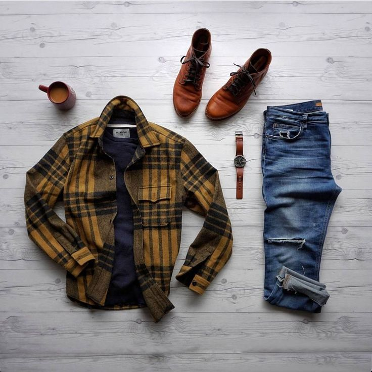Classically rugged #menswear for cold weather.
