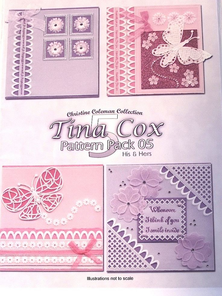PATTERN PACK 5 - HIS & HERS 1 BY TINA COX    'His & Hers 1' pattern pack designed by Tina Cox.