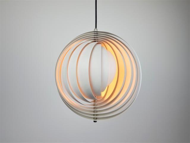 Moon Lampe Von Verner Panton Für Louis Poulsen, 1960er Bei Pamono Kaufen
