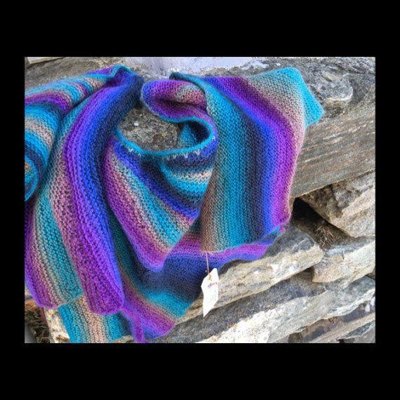 SHAWL norwegian style hand made 100% norwegian wool от NorwayWool