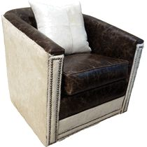 Silver City Swivel Glider