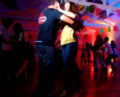 Dancing zouk in Auckland - quite the dancing city in NZ!