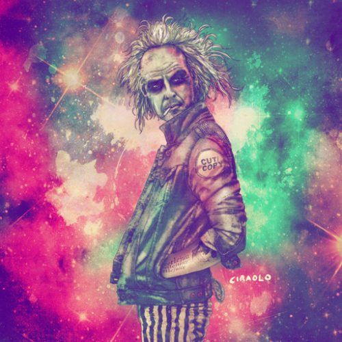 When old school heroes go hipster, hilarity ensues. (33 Photos) : : theCHIVE: Hipster, Beetlejuice, Fabciraolo, Fabian Ciraolo, Art, Illustration, Fab Ciraolo, Beetle Juice, Tim Burton