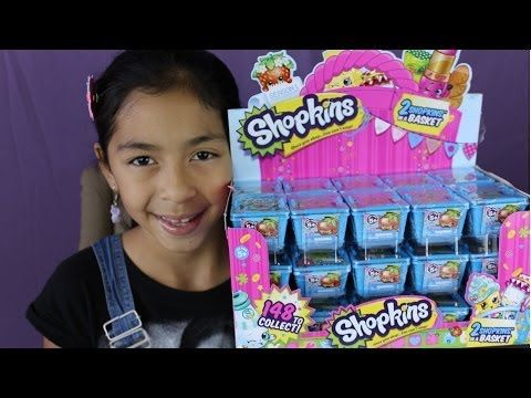 Shopkins Blind Baskets- Opening a Whole Box of  Shopkins-Mystery Toys|b2cutecupcakes #Shopkins