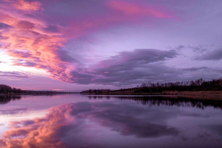 Magic Sunset - LOCATION : Josava Lake, Croatia