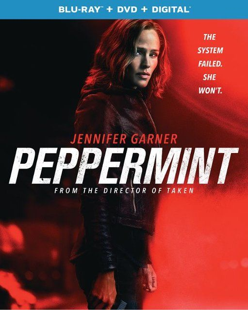 Peppermint [Includes Digital Copy] [Blu-ray/DVD] [2018] in