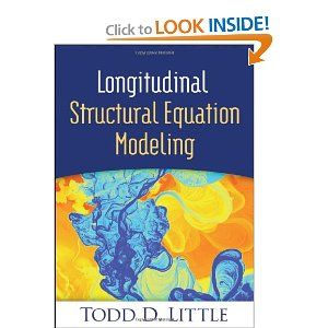 Longitudinal Structural Equation Modeling (Methodology in the Social Sciences): Todd D. Little, Noel A. Card: 9781462510160: Amazon.com: Boo...