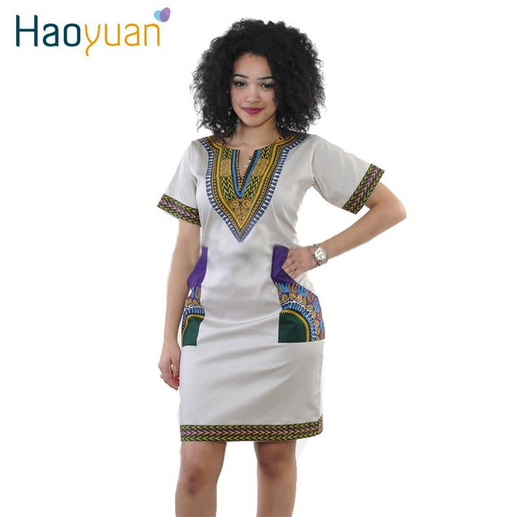 Aliexpress.com : Buy S 3XL Women Summer Bodycon Dress 2016 Robe Sexy Casual Sundress Party Plus Size Clothing Vintage African Print Dashiki Dresses from Reliable dress hood suppliers on HAOYUAN Dres Store
