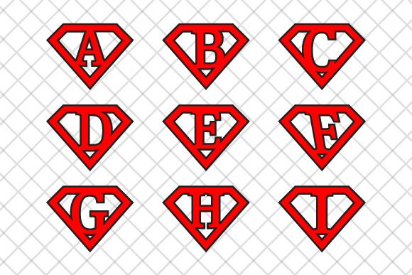 #Superman #letters v2 ~ Illustrations on Creative Market