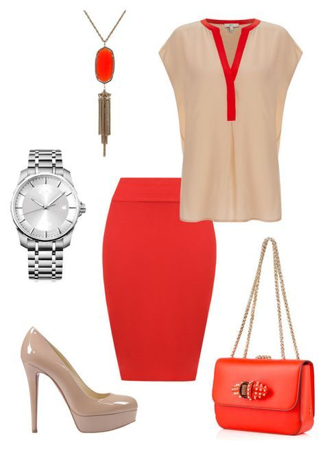 TSD8 by norarogers on Polyvore featuring polyvore fashion style Joie WearAll Christian Louboutin Calvin Klein Kendra Scott clothing
