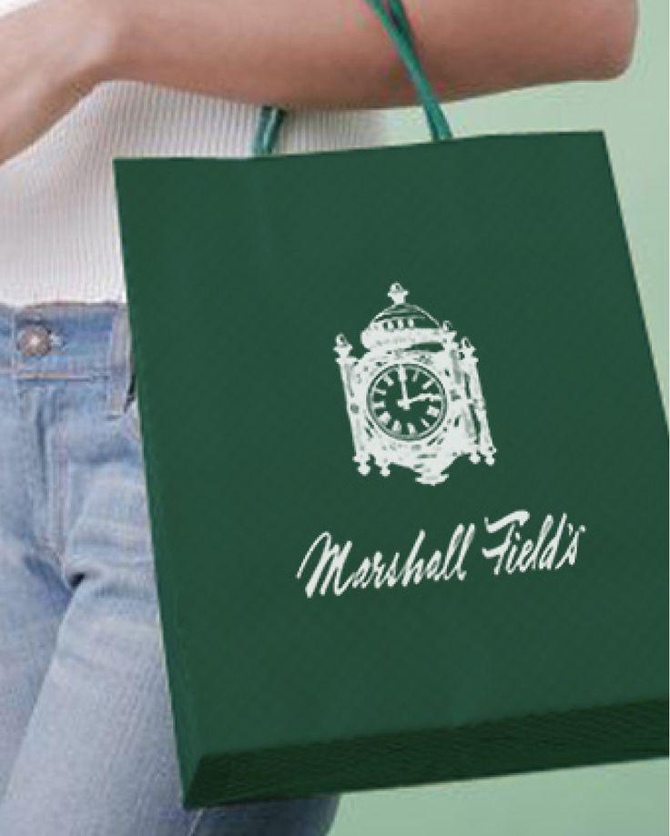 Marshall Fields Bag.