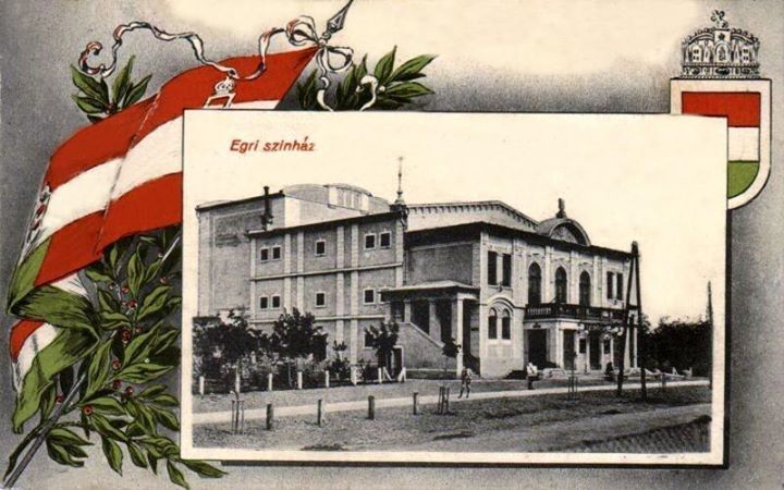 Egri színház 1915